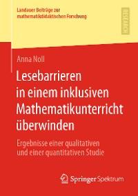 Cover Lesebarrieren in einem inklusiven Mathematikunterricht überwinden