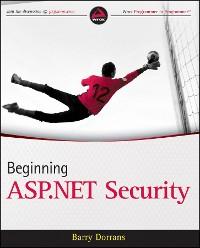 Cover Beginning ASP.NET Security