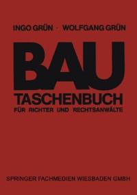 Cover Bautaschenbuch fur Richter und Rechtsanwalte