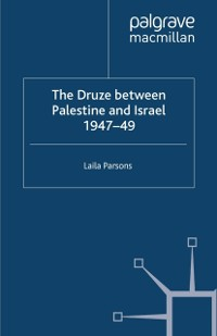 Cover Druze between Palestine and Israel 1947-49