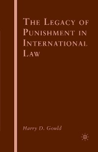 Cover The Legacy of Punishment in International Law