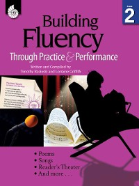 Cover Building Fluency Through Practice & Performance Grade 2