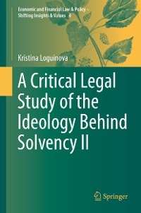 Cover A Critical Legal Study of the Ideology Behind Solvency II