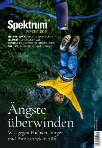 Cover Spektrum Psychologie 4/2018 - Ängste überwinden