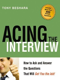 Cover Acing the Interview