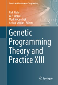 Cover Genetic Programming Theory and Practice XIII