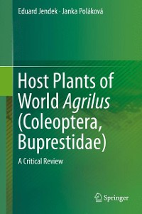 Cover Host Plants of World Agrilus (Coleoptera, Buprestidae)