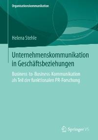 Cover Unternehmenskommunikation in Geschäftsbeziehungen