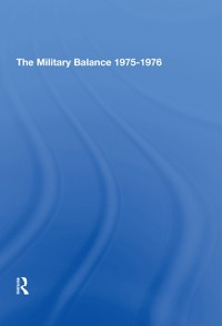 Cover Military Balance 1975-1976