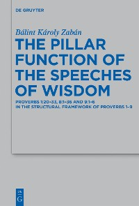 Cover The Pillar Function of the Speeches of Wisdom