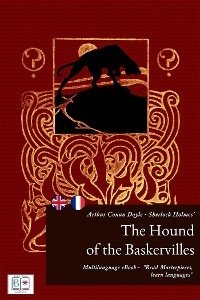 Cover Sherlock Holmes' The Hound of the Baskervilles (English + French Interactive Version)