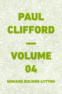 Cover Paul Clifford - Volume 04