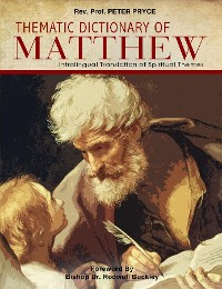 Cover Thematic Dictionary of Matthew