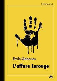 Cover L'affare Lerouge
