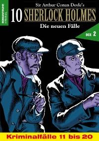 Cover 10 SHERLOCK HOLMES – Die neuen Fälle Box 2