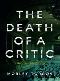 Cover The Death of a Critic