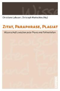 Cover Zitat, Paraphrase, Plagiat