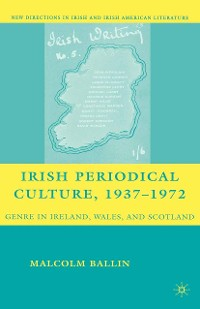Cover Irish Periodical Culture, 1937-1972