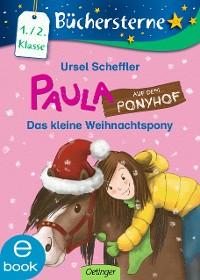Cover Paula auf dem Ponyhof. Das kleine Weihnachtspony