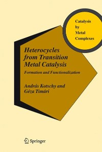 Cover Heterocycles from Transition Metal Catalysis
