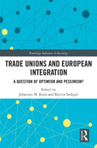 Cover Trade Unions and European Integration