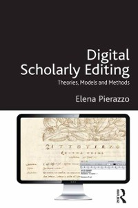 Cover Digital Scholarly Editing