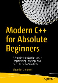 Cover Modern C++ for Absolute Beginners