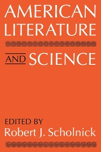 Cover American Literature and Science