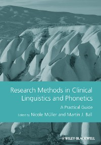 Cover Research Methods in Clinical Linguistics and Phonetics