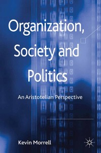 Cover Organization, Society and Politics