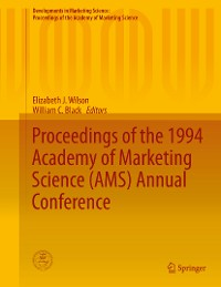 Cover Proceedings of the 1994 Academy of Marketing Science (AMS) Annual Conference