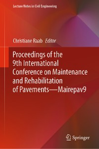 Cover Proceedings of the 9th International Conference on Maintenance and Rehabilitation of Pavements—Mairepav9