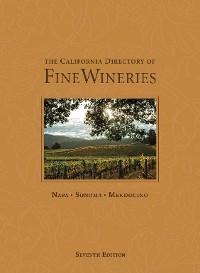 Cover The California Directory of Fine Wineries: Napa, Sonoma, Mendocino