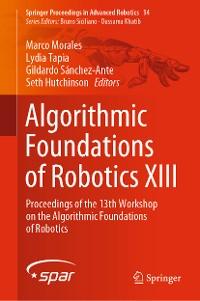 Cover Algorithmic Foundations of Robotics XIII