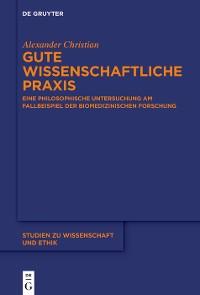 Cover Gute wissenschaftliche Praxis