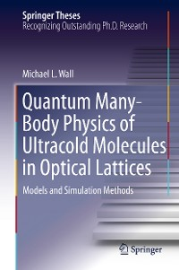 Cover Quantum Many-Body Physics of Ultracold Molecules in Optical Lattices