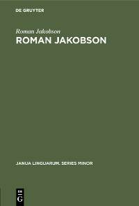 Cover Roman Jakobson