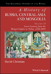 Cover A History of Russia, Central Asia and Mongolia, Volume II