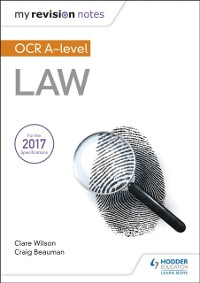 Cover My Revision Notes: OCR A Level Law