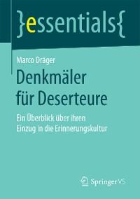 Cover Denkmäler für Deserteure