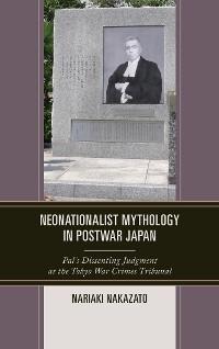 Cover Neonationalist Mythology in Postwar Japan