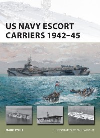 Cover US Navy Escort Carriers 1942 45