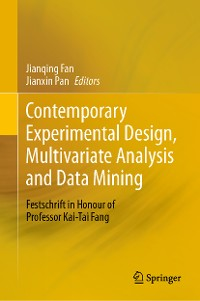 Cover Contemporary Experimental Design, Multivariate Analysis and Data Mining