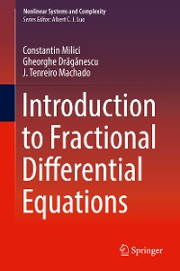Cover Introduction to Fractional Differential Equations
