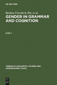 Cover Gender in Grammar and Cognition