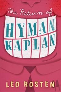 Cover Return of Hyman Kaplan