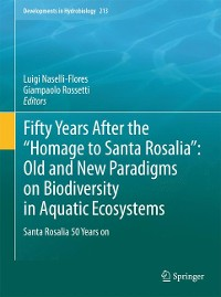 "Cover Fifty Years After the ""Homage to Santa Rosalia"": Old and New Paradigms on Biodiversity in Aquatic Ecosystems"