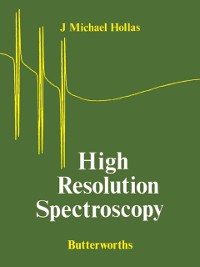 Cover High Resolution Spectroscopy
