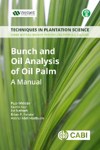 Cover Bunch and Oil Analysis of Oil Palm