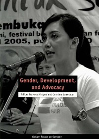 Cover Gender, Development, and Advocacy